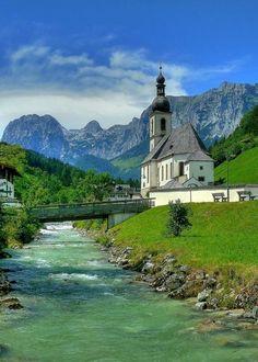 Saint Sebastian Church, Ramsau, Germany