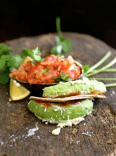 Healthy Avocado taco's Sreelus Tasty Travels #food
