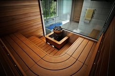 Saunagalleria I SUN SAUNA Oy I Ideoita saunaremonttiin, saunaideat Saunas, Bath Caddy, Outdoor Decor, Home Decor, Decoration Home, Room Decor, Interior Decorating