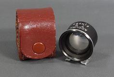 Seiki Swallow Accura JAPAN T/W Dual Range Finder Cinema Movie Camera+Leather box
