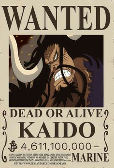 Poster A3 One Piece Gold Roger Rey Pirata Recompensa Se Busca Wanted Bounty