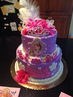 Sofia The First Cake Design Goldilocks : 1000+ images about Bella s 3rd birthday ideas on Pinterest ...
