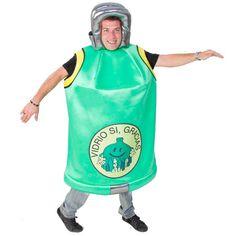 DisfracesMimo, disfraz de contenedor de vidrio para adulto talla m/l.Es ideal para tus fiesta de disfraces y ser el mejor disfraz para reciclar.Fabricacion nacional.