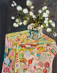 Laura Jones – 2014 Punch....this artist has a modern Matisse sensibility that I find intriguing.