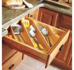 Soft-close hinges. It is impossible to slam a drawer or cabinet in my kitchen. Each closes with a small whisper. Its calming somehow.