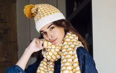 Pipo naiselle x 13 – ota ohjeet talteen ja äänestä kaunein! - Kotiliesi.fi Winter Hats, Crochet Hats, Beanie, Diy, Accessories, Fashion, Knitting Hats, Moda, Bricolage