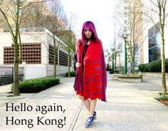 Hong Kong has the cutest women's fashion: kawaii clothing lines for Doraemon, Miffy bunny rabbit, Wallace & Gromit! See Chinese street style photos on La Carmina blog: http://www.lacarmina.com/blog/2013/05/doraemon-clothing-hong-kong-chocoolate-toro-mandycat-k11-art-mall/    miffy clothing line, miffy rabbit fashion, bunny scarf