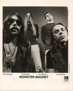 One of my favourite rock bands of all time: MONSTER MAGNET