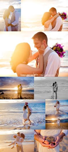 Maui Vow Renewal: Betsy & Jon at Maluaka Beach - Mariah Milan - Maui, Hawaii Wedding, Portrait, and Vacation Photographer