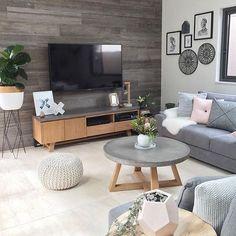 Interior Living Room Design Trends for 2019 - Interior Design Dark Living Rooms, Home Living Room, Interior Design Living Room, Living Room Designs, Living Room Decor, Dark Rooms, Modern Living, Nordic Living Room, Modern Tv