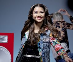 """Zendaya on the set of """"Contagious Love"""" By Bella Thorne and Zendaya"""