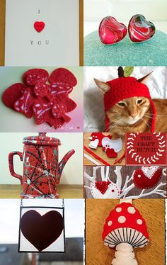 Ravishing red by Kerry Cornell on Etsy--Pinned with TreasuryPin.com