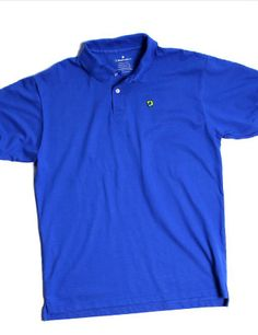 The Fort Moultrie Blue Bellwether 360 Polo. 100% American-Grown Supima Cotton. Made in South Carolina. 10% of all sales donated to sea turtle conservation efforts. $68.00