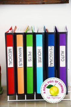 14 méthodes pour organiser vos documents les plus importants
