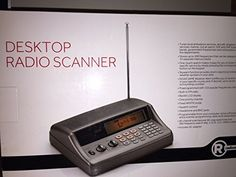 Radio Shack PRO-650 Desktop Radio Scanner *** Want to know more, click on the image. (This is an affiliate link) Home Monitor, Security Surveillance, Home Security Systems, Cooking Timer, Desktop, Amazon, Detail, Desk, Amazons