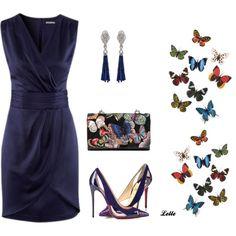 """HM dress"" by lellelelle on Polyvore"