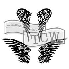 TCW616 Angel Wings