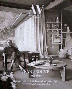 Jean Prouve at his home