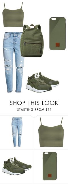 """Untitled #17"" by zaniriyanixon on Polyvore featuring WearAll, NIKE, Native Union and Herschel Supply Co."