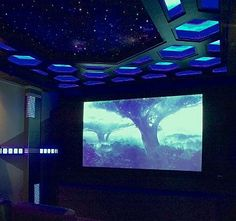 A couple of sci-fi home theater fans get the ultimate movie room in a new StarGate home theater design.