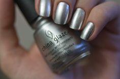 China Glaze - Millenium #nails #nailpolish #manicure #nailru