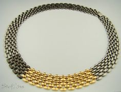 <p>Mixed+Metal+Necklace+from+Israel+-+Stephan</p>