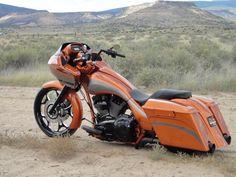 2011 FLTRX Custom Bagger built by Guerra Custom Motorcycles