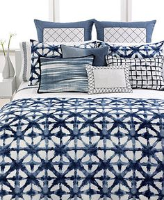 Vera Wang Bedding, Shibori Collection - Bedding Collections - Bed & Bath - Macy's Bridal and Wedding Registry