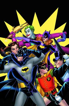 Batman '66 by Amanda Conner