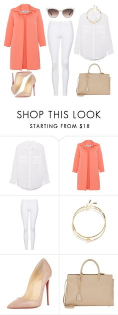 2016/533 by dimceandovski on Polyvore featuring D.Exterior, Topshop, Christian Louboutin, Yves Saint Laurent, LULUS, Gucci and Equipment