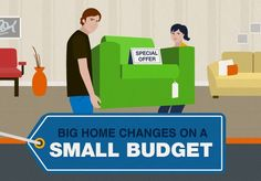 [INFOGRAPHIC:] Tips for Furnishing Your Home on a Budget