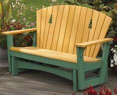 Easy Glider Woodworking Plan, Outdoor Outdoor Furniture