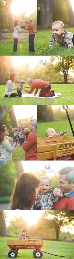 6 month old baby holiday photo session