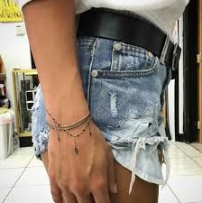 Image result for bracelet tattoos on wrist