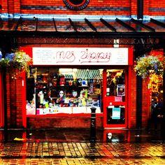 Mrs Zippy's haberdashery shop in Oldham