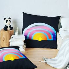 These bright and vibrant pillows were inspired trying to cross a photo with the design or a love for music.  #music #musiclovers #colorfulhome #colorfuldeco #design #designer #digitalmusic #electronic #pillow #shopping