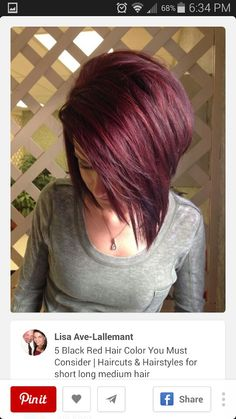 I love this hair. I wish there was a better pic of it, but its showcasing the colour.