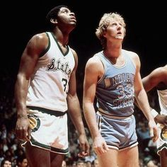 Earvin Magic Johnson This is how Larry Bird and I looked in the NCAA national championship game 40 years ago! That game is still the highest rated college basketball game in history. Oh btw, MSU beat ISU for the title 😁 Basketball Workouts, Basketball Skills, Basketball Hoop, College Basketball, Basketball Shooting, Basketball Pictures, Basketball Players, Championship Game