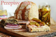 przepis na suszony boczek Camembert Cheese, Menu, Food, Menu Board Design, Essen, Meals, Yemek, Eten