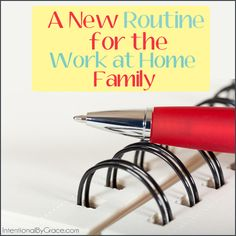 A work at home famil