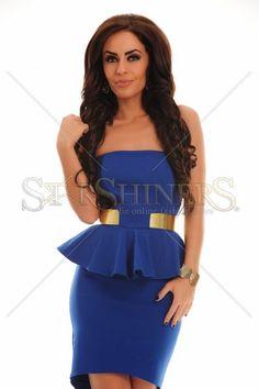 Rochie PrettyGirl Alluring Blue