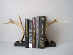 Completely infatuated with these book ends.