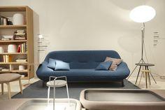 Stand Cinna / Maison & Objet 2014 Canapé COSSE de Philippe Nigro. Now! design à vivre Hall 8 - Stand D43/F44 www.cinna.fr/