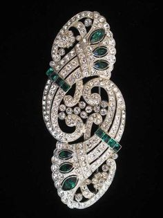 Art Deco Brooch, circa 1928