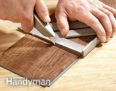 How to Install Luxury Vinyl Flooring | The Family Handyman