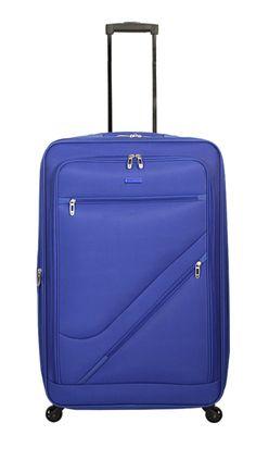 Maleta Gladiator Timelapse Blue - #trolley #maleta #gold #travel #viajar #viagem #viatjar #maletas #suitcase #luggage #maletasGladiator #GladiatorTravel #Gladiator #pacificblue #blue