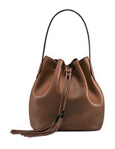 GUCCI Lady Tassel Medium Bucket Bag