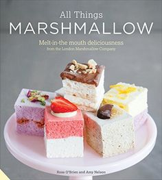 This mouthwatering book by the London Marshmallow Co - published by Jacqui Small LLP, September 2015 Recipes With Marshmallows, Homemade Marshmallows, Homemade Candies, Marshmallow Recipes, Candy Recipes, Sweet Recipes, Dessert Recipes, Desserts, Orange Truffles Recipe