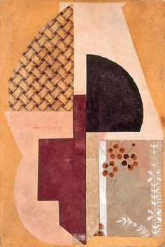 Find some outfit inspiration in the art world. We love the collage effect - play with proportions, combine textures, get a little creative. Inspo care of Hans Arp, Untitled, 1917 Jean Arp, Photomontage, Dadaism Art, Sonia Delaunay, Georges Braque, Marcel Duchamp, Mondrian, Kandinsky, Pablo Picasso