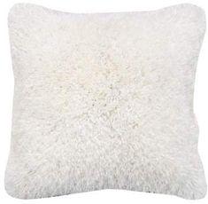 Latitude Run Fabrice Silky Shaggy Throw Pillow Fur Pillow, Throw Pillow Sets, Girls Room Wall Decor, Pastel Floral, Outdoor Throw Pillows, Blush Flowers